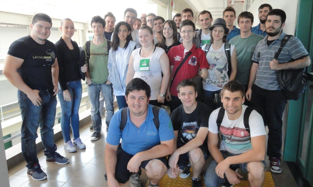 Participantes do minicurso de Blender - UFFS