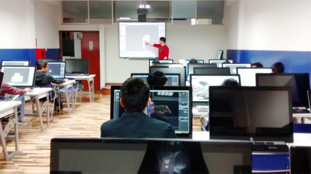 Minicurso de Blender na Universidad Inca Garcilaso de la Vega